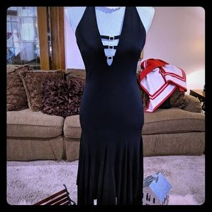 Black with diamonds Dress